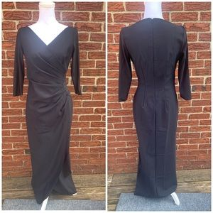 Alex Evenings black beaded gown